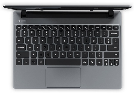 Acer C7 Chromebook top