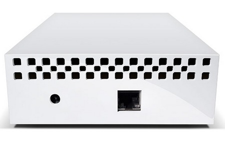 LaCie CloudBox Simple Network Storage Solution back