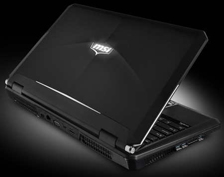 MSI GX60 Gaming Notebook packs AMD Trinity A10 and Radeon HD7970M lid