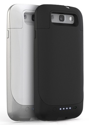 Mophie juice pack Battery Case for Samsung Galaxy S III back