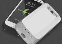 Mophie juice pack Battery Case for Samsung Galaxy S III in use