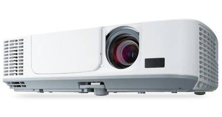 NEC M271X, M311X and M311W Portable Projectors angle