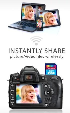 Transcend WiFi SD Memory Card