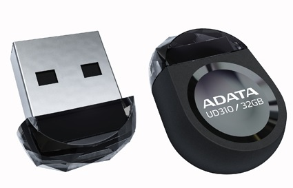 ADATA DashDrive Durable UD310 Gem-like USB Flash Drive black