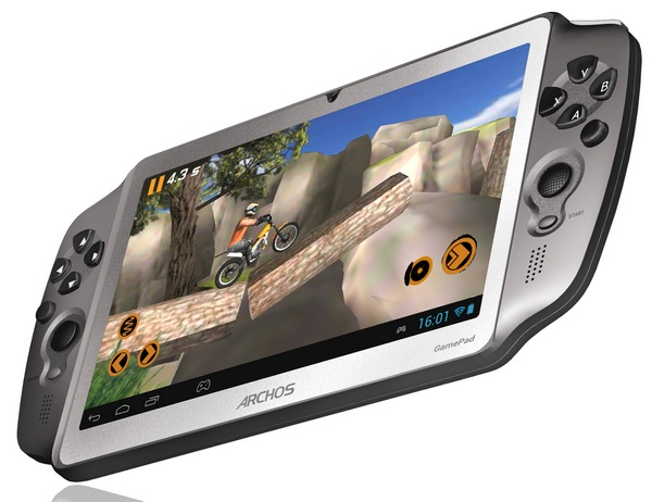 Archos GamePad 7-inch Android Gaming Tablet angle