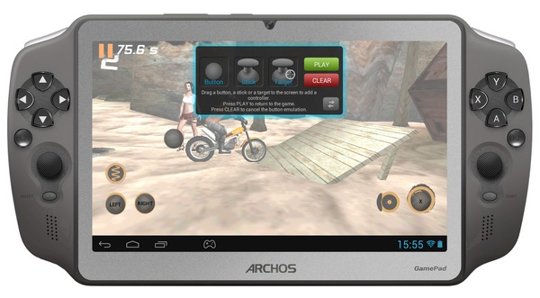 Archos GamePad 7-inch Android Gaming Tablet front