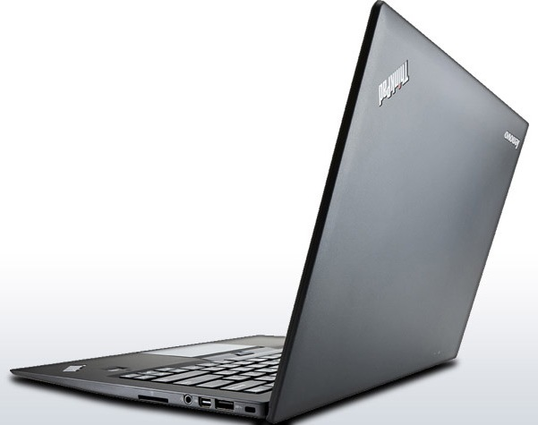 Lenovo ThinkPad X1 Carbon Touch Optimized for Windows 8 lid