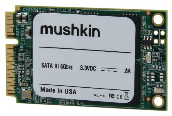 Mushkin to ship Atlas, World's First 480GB mSATA Solid State Drive