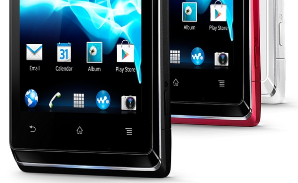 Sony Xperia E Affordable Smartphone buttons