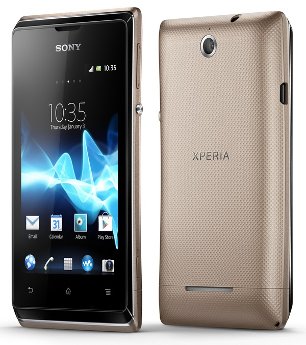 Sony Xperia E dual dual-sim affordable android phone