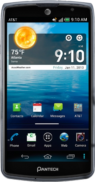 AT&T Pantech Discover Affordable Smartphone with 720p Display and Full HD Video