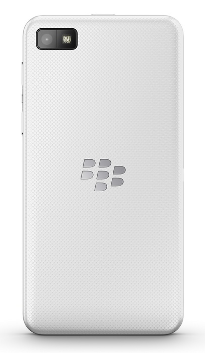 BlackBerry Z10 BB10 Smartphone white back