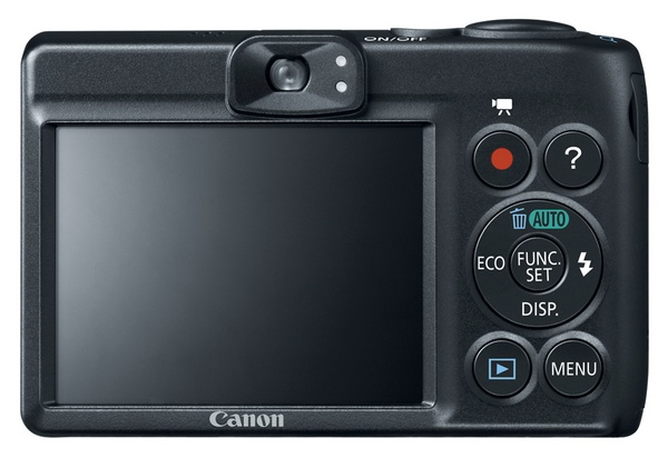Canon PowerShot A1400 digital camera back