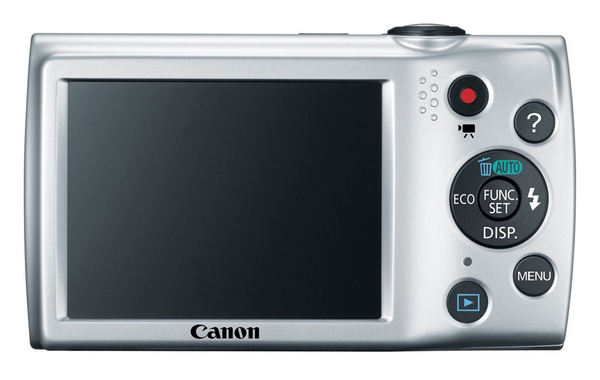 Canon PowerShot A2500 Budget Digital Camera back