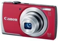 Canon PowerShot A2500 Budget Digital Camera red