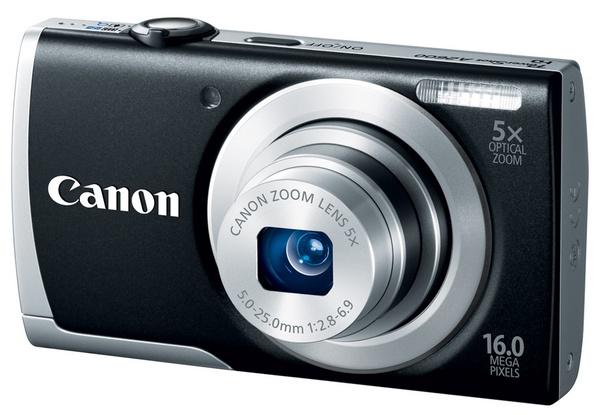 Canon PowerShot A2600 digital camera black