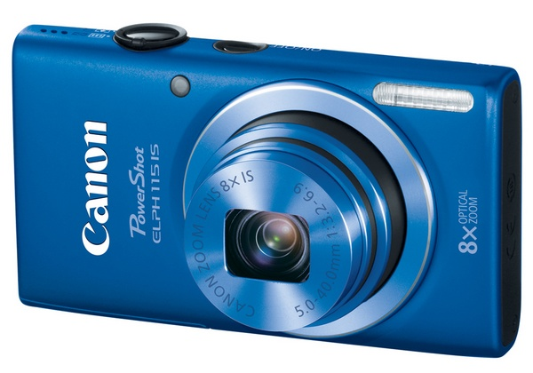 Canon PowerShot ELPH 115 IS Camera blue
