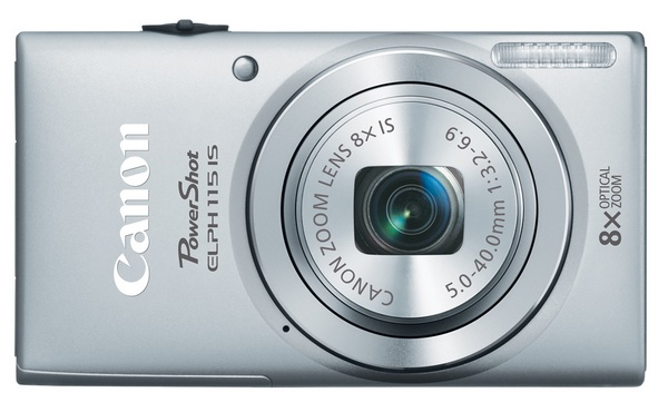 Canon PowerShot ELPH 115 IS Camera silver