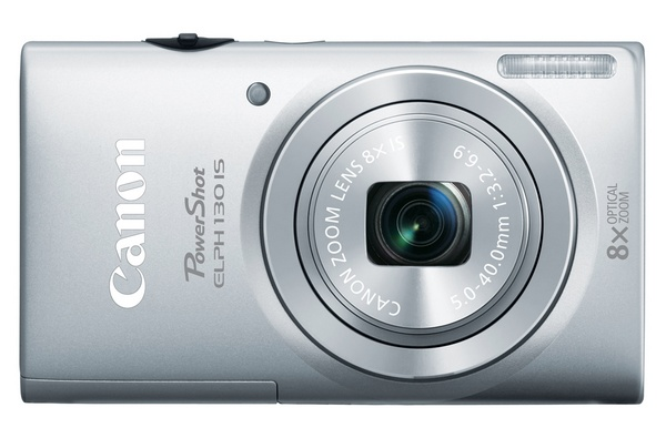 Canon PowerShot ELPH 130 IS Point-and Shoot packs 8x Zoom, WiFi and 3-inch Display silver