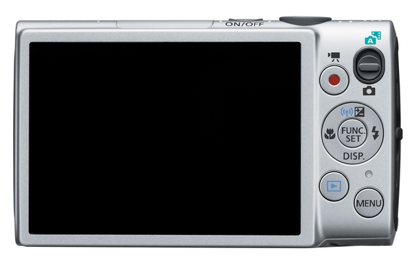 Canon PowerShot ELPH 330 HS Camera back