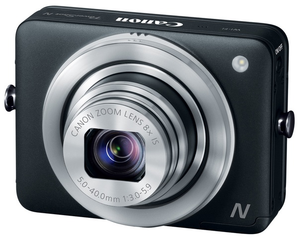 Canon PowerShot N Camera angle