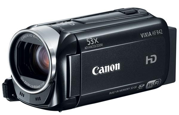 Canon VIXIA HF R42 WiFi Full HD Camcorder