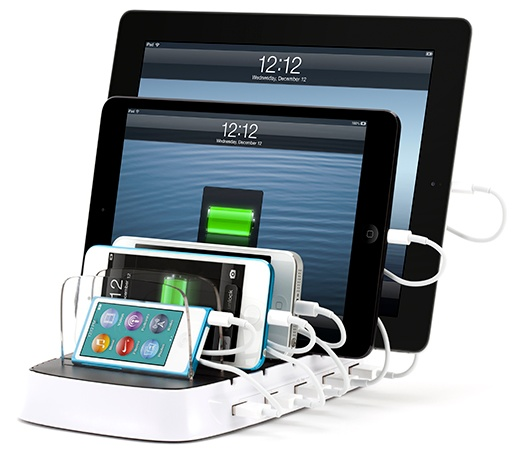 Griffin PowerDock 5 can charge 5 iPads Simultaneously