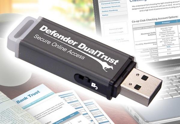 Kanguru Defender DualTrust Encrypted USB Drive Secures Web Browsing
