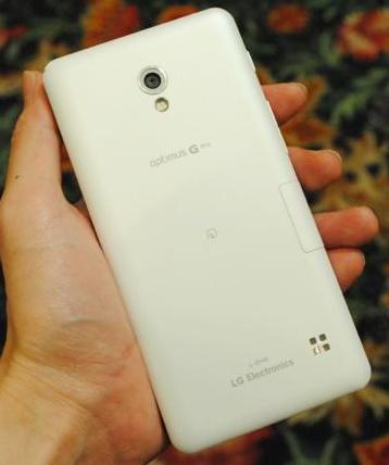 LG Optimus G Pro L-04E for NTT DoCoMo on hand back