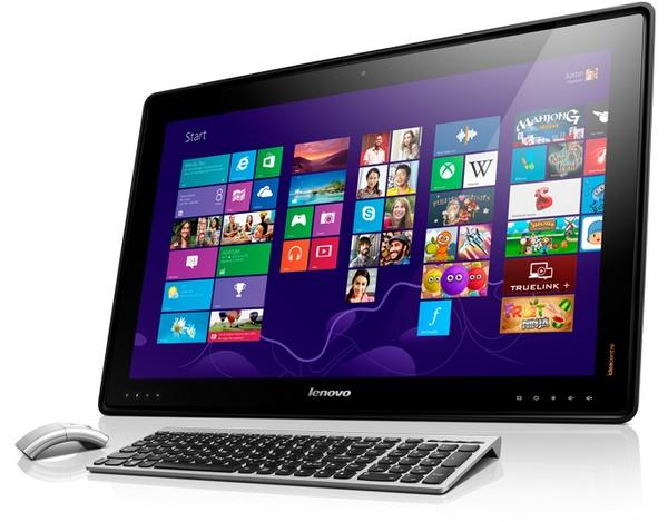 Lenovo IdeaCentre Horizon Table PC as desktop