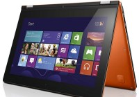 Lenovo IdeaPad Yoga 11S Convertible Ultrabook gets Intel Ivy Bridge tent orange