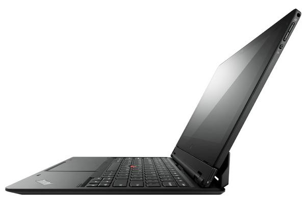 Lenovo ThinkPad Helix Convertible Ultrabook table side