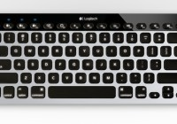 Logitech Bluetooth Easy-Switch Keyboard for Mac, iPad and iPhone front