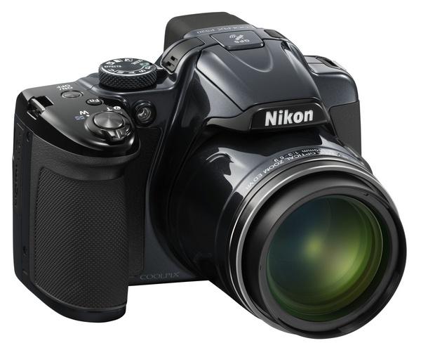 Nikon CoolPix P520 42x Ultra Zoom Camera grey