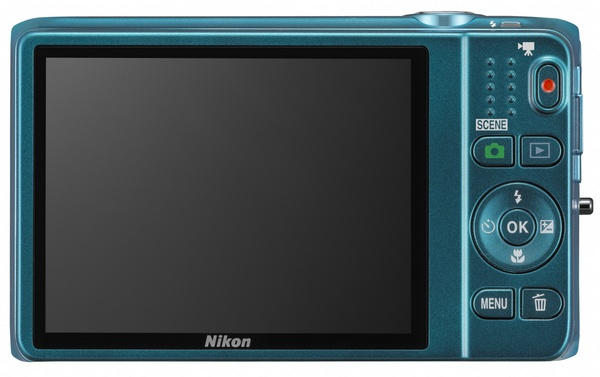 Nikon CoolPix S6500 Compact Camera with 12x Optical Zoom and WiFi back
