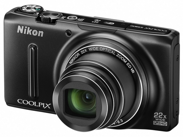 Nikon CoolPix S9500 and S9400 Slim Super Zoom Cameras with WiFi