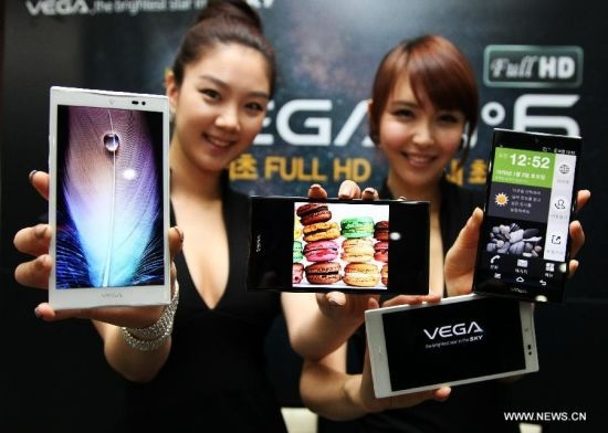 Pantech Vega No.6 5.9-inch 1080p Smartphone live shots