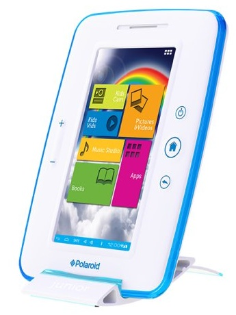 Polaroid 7-inch Kids Tablet docked