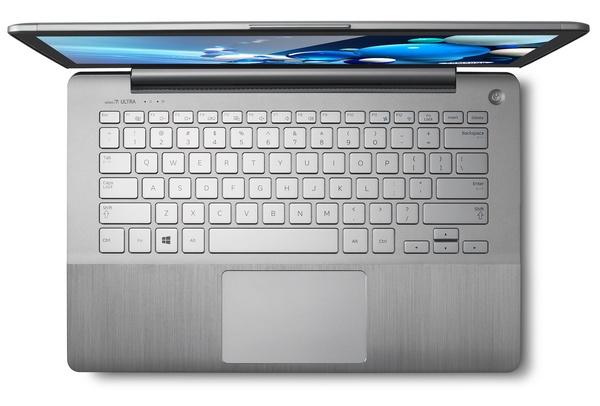 Samsung Series 7 Ultra Ultrabook top