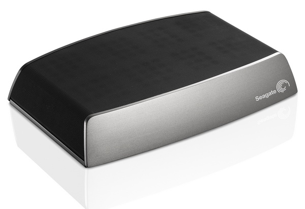 Seagate Central Shared Storage with Ethernet, DLNA and AirPlay angle