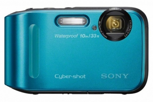 Sony Cyber-shot DSC-TF1 Rugged Camera blue