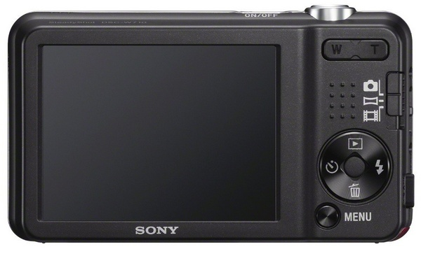 Sony Cyber-shot DSC-W710 digital camera back
