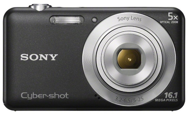 Sony Cyber-shot DSC-W710 digital camera black