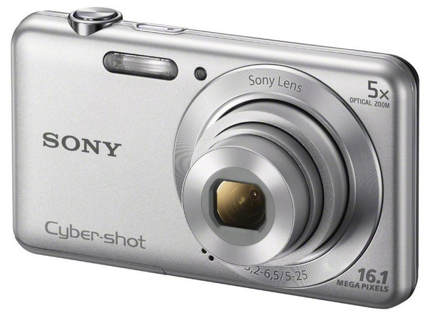 Sony Cyber-shot DSC-W710 digital camera silver