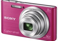 Sony Cyber-shot DSC-W730 digital camera pink