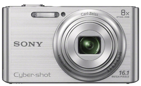 Sony Cyber-shot DSC-W730 digital camera silver
