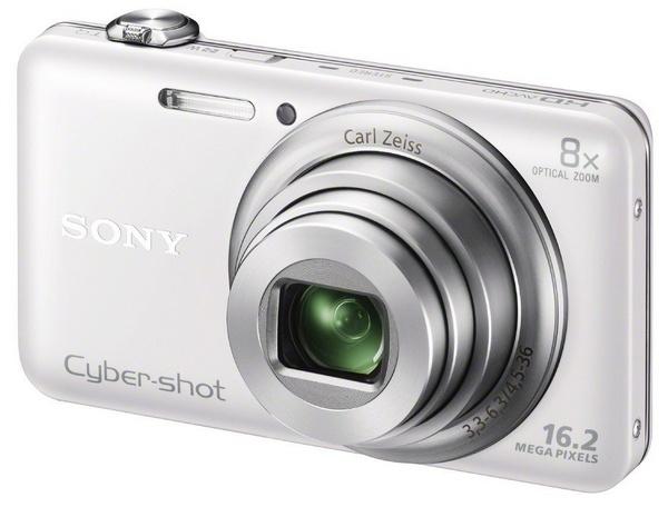 Sony Cyber-shot WX80 8x Zoom Camera with WiFi white