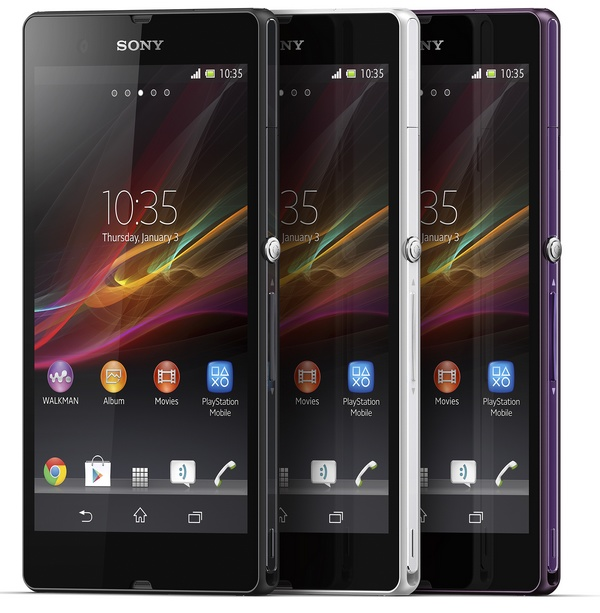 Sony Xperia Z 5-inch Full HD Android Smartphone with HDR Video colors
