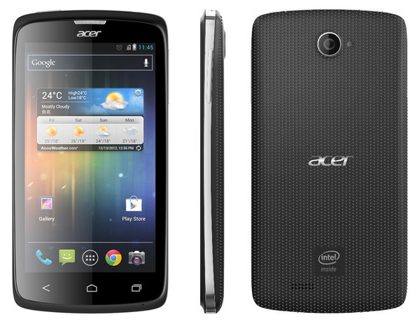 Acer Liquid C1 Intel Atom-powered Smartphone