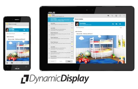 Asus PadFone Infinity Phone-Tablet Hybrid dynamic display